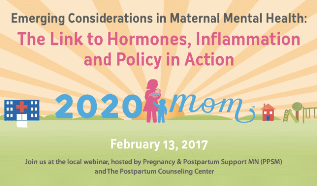 Webcast Gathering: Postpartum Depression – Hormones & Inflammation